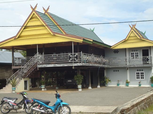 Konsep Rumah Gadang Sumatera Barat